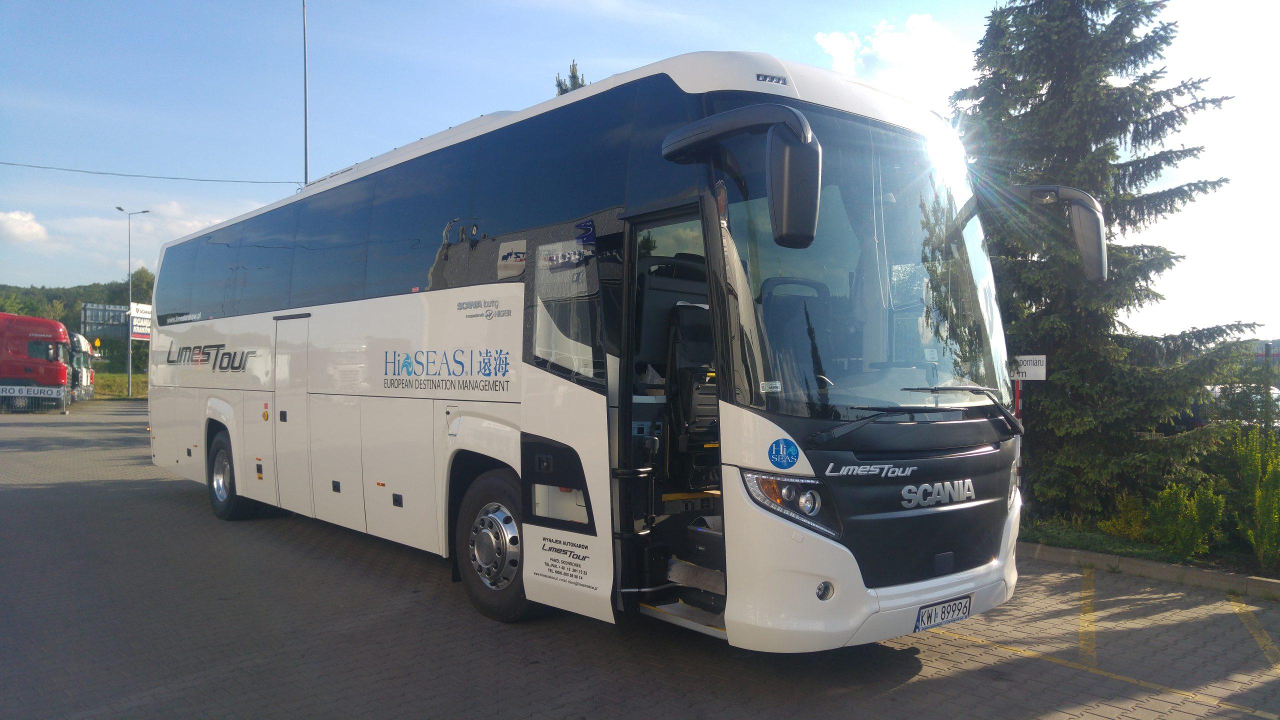 Autokar Scania higer 2018